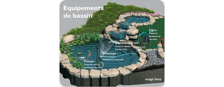 Bassin Carpes Koi - Matériel  et Accessoires pour Koi japonais