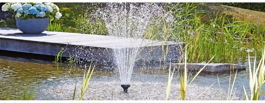 Jet d'eau pour bassin
