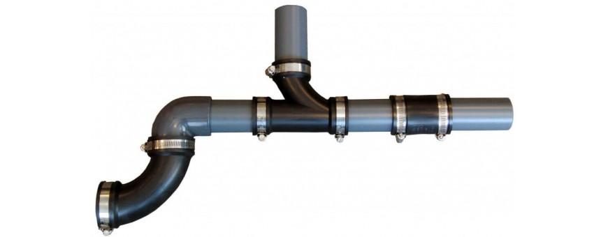Construction des réseaux d' aquaponie